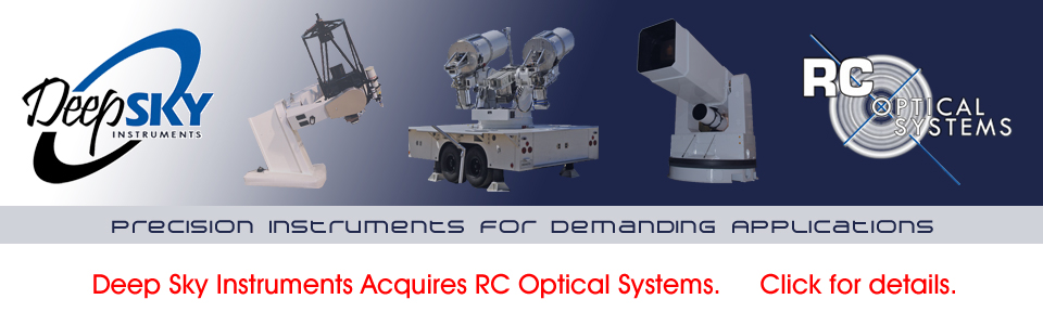 RC Optical Systems - High Performance Tracking Systems