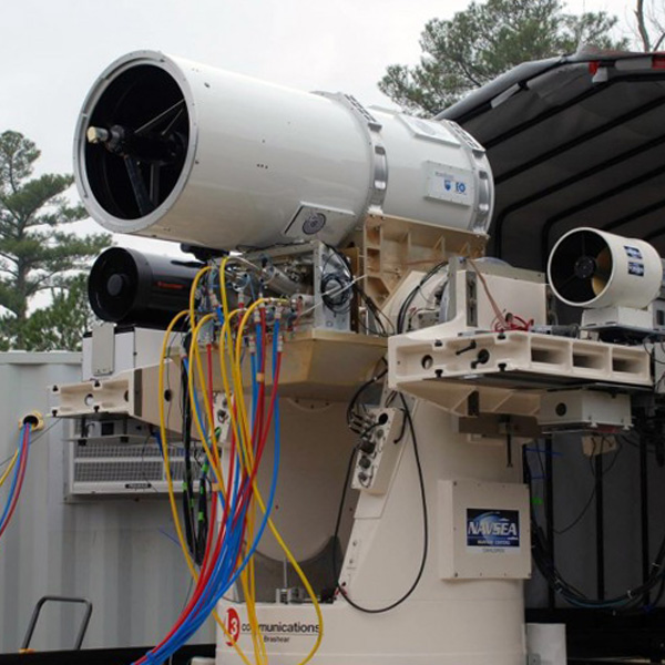 Navy Death Ray using an RCOS 20ARC Beam Expander